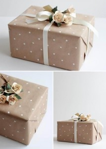 kraft paper decor